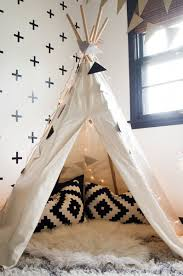 An Interior Stylist S Glam Midwest Remodel The Everygirl Teepee Kids Childrens Bedrooms Kids Room Design