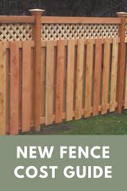 Cost To Install A Fence 2020 Average Prices Inch Calculator Wood Fence Cost Wood Fence Vinyl Fence Cost