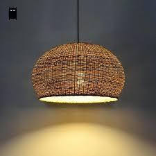 woven pendant light babyde co