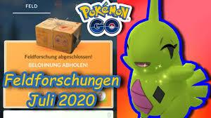 Feldforschungen: alle Aufgaben für den Juli 2020 - Pokémon GO ...