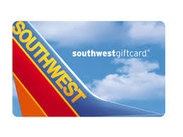 off southwest airlines gift cards and