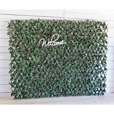 Esessentials 3 Ft H X 6 5 Ft W Artificial Leaf Accordion Expandable Wall Willow Composite Fencing Reviews Wayfair