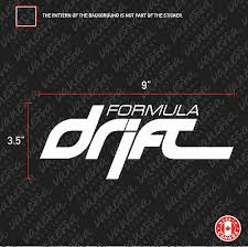 Auto Parts And Vehicles 2x Formula Drift Sticker Vinyl Decal Car Truck Graphics Decals Terratecconstruction Com