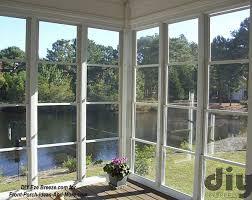 screen porch windows create comfortable