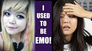 back to emo makeup tutorial