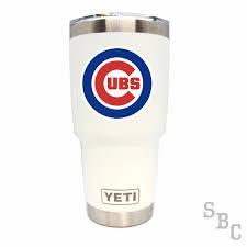 Chicago Cubs Yeti Rambler Tumbler Small Batch Customs