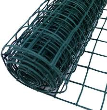 Plastic Garden Fencing 0 5m X 25m Green 50mm Holes Clematis Netting Mesh Ideal For Plant Pet Vegetable Protection And Climbing Plant Support Net Amazon Co Uk Garden Outdoors