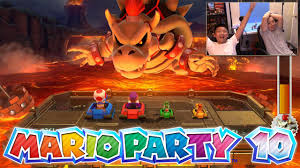 mario party 10 father son gameplay