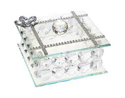 italian silver crystal jewelry box