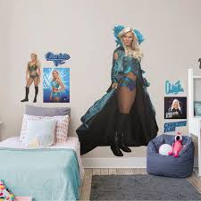 Fathead Charlotte Flair Life Size Officially Licensed Wwe Removable Wall Decal Walmart Com Walmart Com