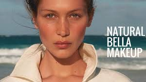bella hadid natural makeup everyday
