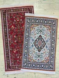 dollhouse miniature rug carpets set of