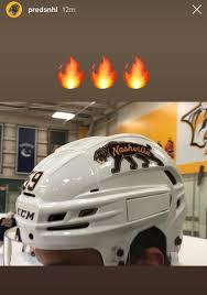 First Look At The Winter Classic Helmet Predators