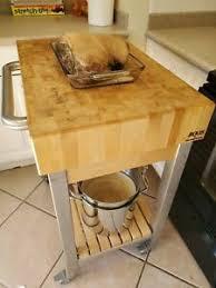 kitchen island butcher block
