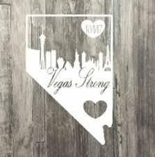 Vegas Strong Car Decal Sticker Commemorative Las Vegas Shooting Skyline Ebay