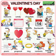 valentine s day voary in english