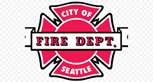 Seattle Fire Department Headquarters Brand Chaplain Fire Department Logo Text Logo Sticker Sign Signage Png Nextpng