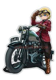 Girl Und Panzer Anime Jdm Anime Car Window Decal Sticker 013 Anime Stickery Online