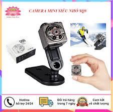 Camera mini siêu nhỏ SQ8 HD 1080P - Camera hành trình, camera an ninh giám  sát giá rẻ hơn camera yoosee, xiaomi, sq13, sq15, q15