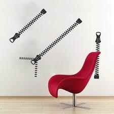 Zip It Wall Art Decal Trendy Wall Decals