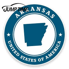 Jump Time For Arkansas Usa Vinyl Sticker Laptop Car Travel Luggage Tag Flag Map Decal Rear Windshield Waterproof Car Accessories Car Stickers Aliexpress