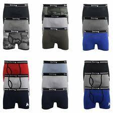 regular underwear for men boxer trunks