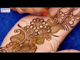 Arabic Mehndi Design Easy And Simple Full Hand
