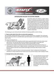 Introducing Wildlife To Electric Fencing By Ndlovu Fencing Issuu