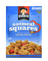 oatmeal squares by quaker 1640 grams