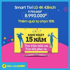 Smart Tivi LG 4K 43inch 43UK6340PTF Đặt... - Điện máy XANH  (dienmayxanh.com)