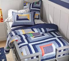 charlie patchwork quilt shams