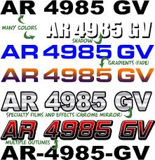 Arkansas Boat Registration Numbers Ar Lettering