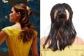 beauty the beast belle s hair