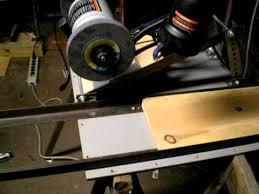 homemade surface grinder you