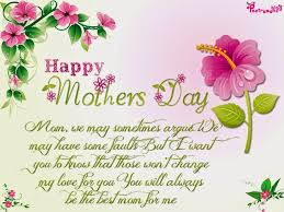 Happy mothers day ...