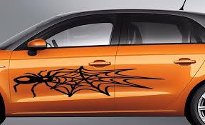 Large Spider Web Car Body Suv Vinyl Stikers Decals Set Of 2 Left And Right Vvsdecals Vinyl Sticker Car Vinyl Decals