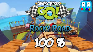 Angry Birds GO! - Rocky Road 100% Complete - Walktrough Gameplay ...
