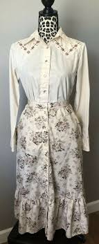 Ad)eBay - Vintage MWG Ms. Joni West Western Wear Pearl Button Shirt Skirt  Set Womens 10/12 | Skirt set, Western wear, Shirt skirt