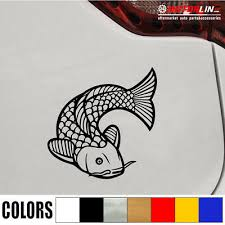 Koi Fish Vinyl Decal Sticker Japanese Chinese Import Euro Jdm Car Laptop Stance