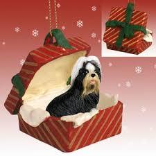 dogs shih tzu gift box ornament