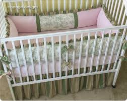 park toile baby crib bedding