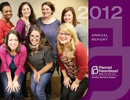 FY2012 Annual Report - Planned Parenthood