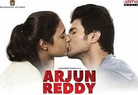arjun reddy to feature 30 lip locks