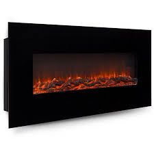 electric wall mounted fireplace heater