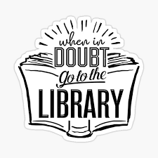 Library Stickers Redbubble