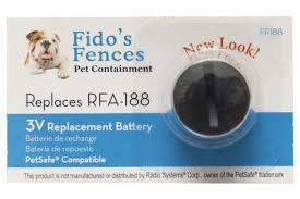 Rfa 188 Petsafe Compatible Fence Dog Collar Lithium Battery