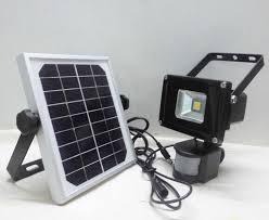 solar led floodlights motion sensor