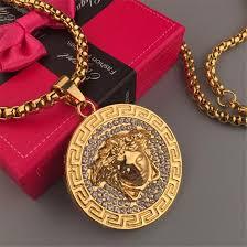 golden dess necklace for men