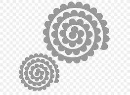 paper cricut flower rose quilling png