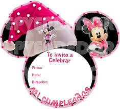 Tarjetas De Invitacion Minnie Y Mickey Navidad Invitaciones 13502